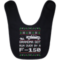 Wheel Spin Addict F150 F-150 Truck Christmas Baby Bib