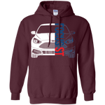 Ford Focus ST Pullover Hoodie 2015 2016 2017 2018