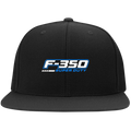 F-350 Super Duty Power Stroke Flat Bill High-Profile Snapback Hat