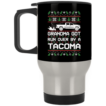 Wheel Spin Addict Tacoma Truck Christmas Stainless Travel Mug