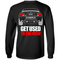 New Edge Ford Mustang Cobra 2001 2002 T-Shirt Long Sleeve