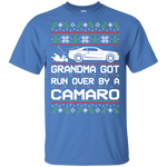 Chevy Camaro 5th Gen Grandma Got Run Over Ugly Christmas T-Shirt