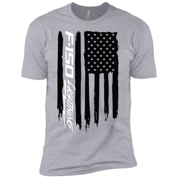 Youth F-150 Lightning American Flag Boys' Cotton T-Shirt