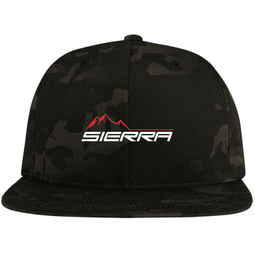 Sierra 1500 2500 3500 Flat Bill High-Profile Snapback Hat