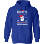 Trump Make Christmas Great Again MAGA Ugly Christmas Pullover Hoodie