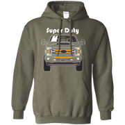 Ford F 250 F 350 Super Duty Diesel Gas 2017 2018 2019  Pullover Hoodie