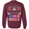 SN95 Ford Mustang American Muscle Pullover Sweatshirt  1997 1998