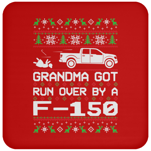 Wheel Spin Addict 2012 F150 F-150 Truck Christmas Coaster