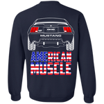 WSA New Edge Ford Mustang GT 1999-2004 American Muscle Crewneck Sweatshirt