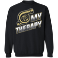 Turbo is My Therapy Racing Boosted Crewneck Sweatshirt