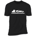 VRRRRRMMMMMMM Racing Burnout Premium Short Sleeve T-Shirt