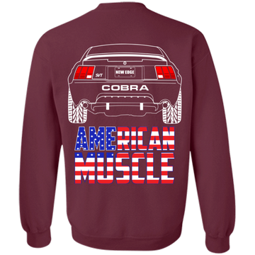New Edge Cobra Ford Mustang American Muscle 2001 2002 2003 Pullover Sweatshirt