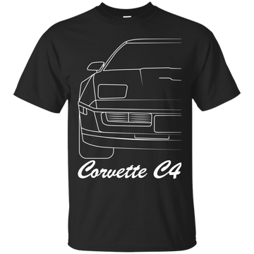 Chevy Corvette C4 Outline T-Shirt