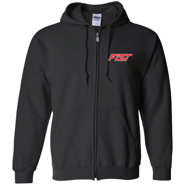 Fiesta ST Ecoboost 1.6 Gildan Zip Up Hooded Sweatshirt