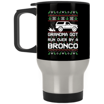 Wheel Spin Addict Bronco Christmas Stainless Travel Mug