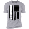 Youth Duramax Silverado Sierra American Flag Boys' Cotton T-Shirt