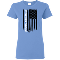 PowerStroke F-250 F-350 Diesel American Flag Ladies' T-Shirt