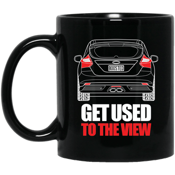 Focus ST 11 oz. Black Mug