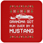 Wheel Spin Addict Mustang SN95 Christmas Coaster