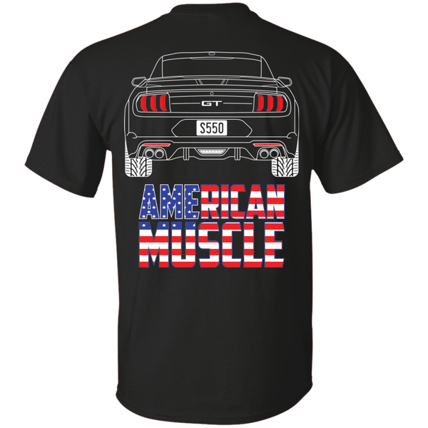 S550 Ford Mustang GT T-Shirt 2018