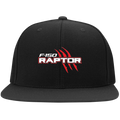 Raptor F-150 Truck Flat Bill High-Profile Snapback Hat