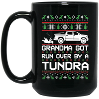Wheel Spin Addict Tundra Truck Christmas 15 oz. Black Mug