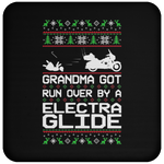 Wheel Spin Addict Electra Glide Christmas Coaster
