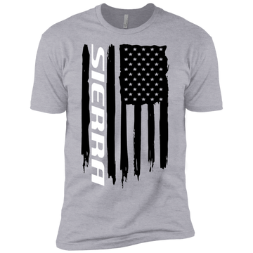 Youth Sierra 1500 2500 3500 Duramax American Flag Boys' Cotton T-Shirt