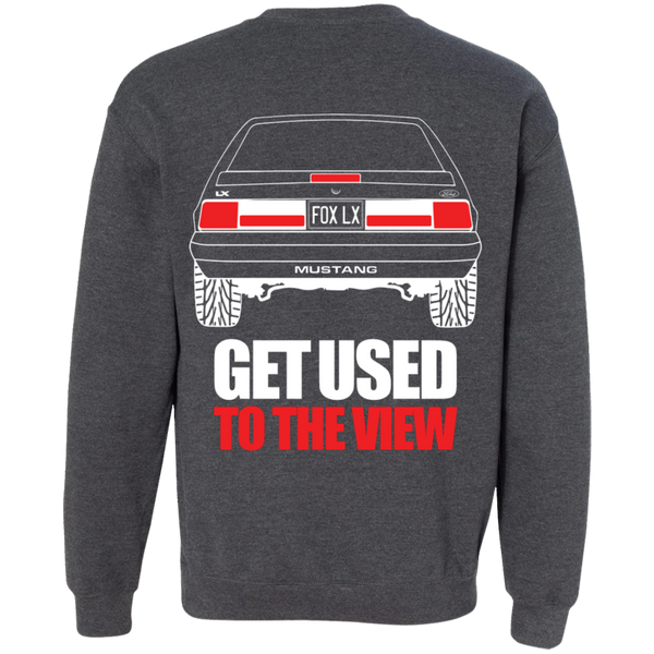 Foxbody LX Ford Mustang Pullover Sweatshirt 5.0   Wheel Spin