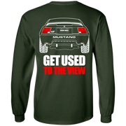 New Edge Ford Mustang GT 4 6 T Shirt Long Sleeve