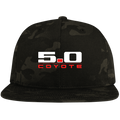 5.0 Coyote Mustang S197 S550 Flat Bill High-Profile Snapback Hat