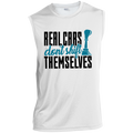 Real Cars Don't Shift Themselves Manual Stick Shift Sleeveless Performance T-Shirt