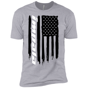 Youth Impala American Flag Boys' Cotton T-Shirt
