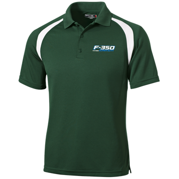 F-350 Super Duty Power Stroke Moisture-Wicking Tag-Free Golf Shirt