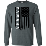 Yamaha American Flag Long Sleeve T-Shirt