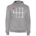 6-Speed Manual Stick Shift Racing Pullover Hoodie