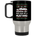 Wheel Spin Addict Mustang FoxbodyChristmas Stainless Travel Mug