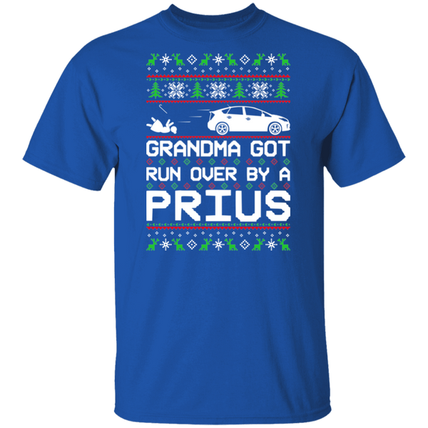 Toyota Prius Grandma Got Run Over Ugly Christmas T-Shirt