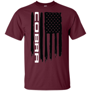 Cobra Ford Mustang Flag T Shirt S550 S197 New Edge Foxbody SN95 Shelby