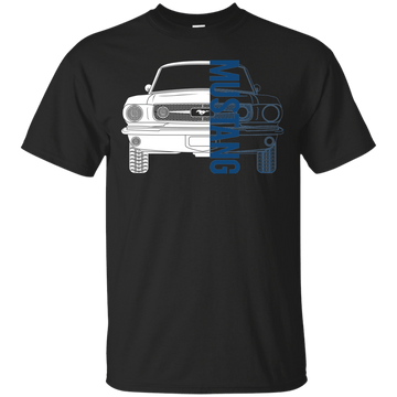 Classic Mustang Double Sided T-Shirt