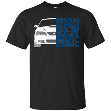 New Edge Mustang Double Sided T-Shirt