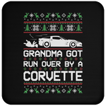 Wheel Spin Addict Corvette C6 Christmas Coaster