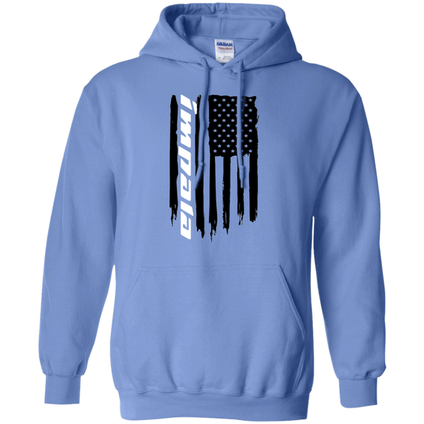 Chevy Impala American Flag Pullover Hoodie
