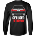 Ford Mustang Notch Foxbody 5.0 LX T-Shirt Long Sleeve
