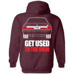 Notchback Mustang Double Sided Hoodie