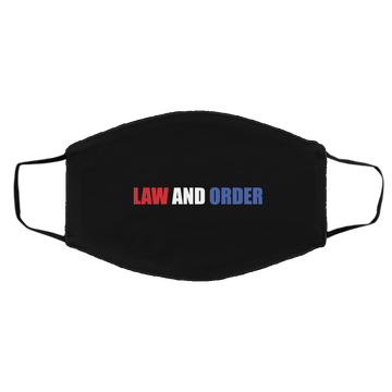 Law And Order Trump Blue Line Med/Lg Face Mask
