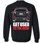 Double Sided Fiesta ST Crewneck Pullover Sweatshirt