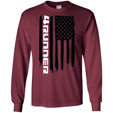 Toyota 4runner TRD SR-5 Trail American Flag T-Shirt Long Sleeve