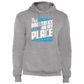 The Race Track Is Our Happy Place Racing Pullover Hoodie