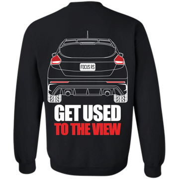 Ford Focus RS 2017 2018 2019  Crewneck Pullover Sweatshirt